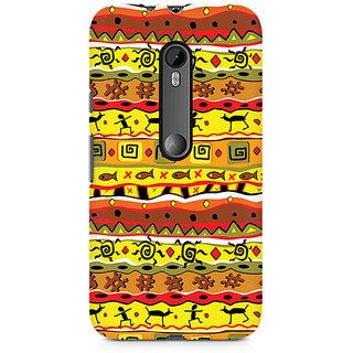 CopyCatz Tribal Art Premium Printed Case For Moto X Play