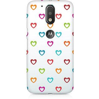 CopyCatz Colors Of Love Premium Printed Case For Moto G4/G4 Plus