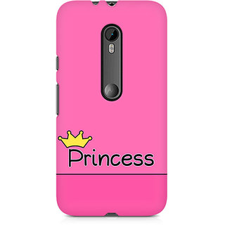 CopyCatz Princess Premium Printed Case For Moto X Play