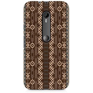 CopyCatz Gemoetric Strip Premium Printed Case For Moto G3