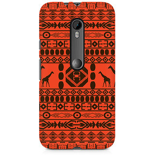 CopyCatz Giraffe Print Premium Printed Case For Moto X Play