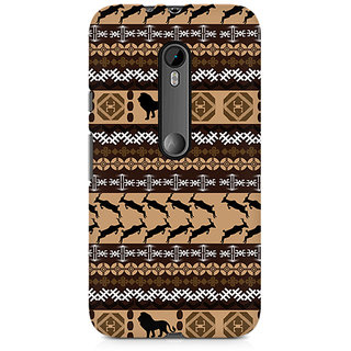 CopyCatz Tribal Lion Premium Printed Case For Moto X Play