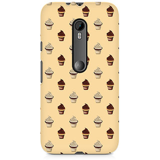CopyCatz Cream Cupcakes Premium Printed Case For Moto G3