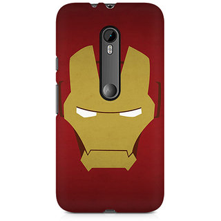 CopyCatz Iron Man Minimalist Premium Printed Case For Moto X Style