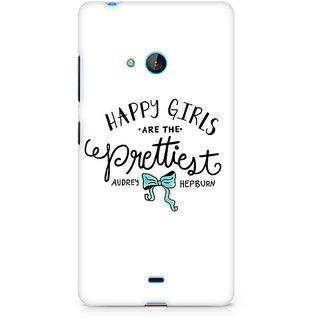 CopyCatz Happy Girls Premium Printed Case For Nokia Lumia 540