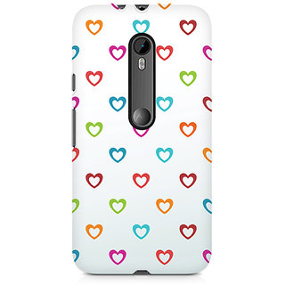 CopyCatz Colors Of Love Premium Printed Case For Moto G3