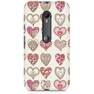 CopyCatz So Many Hearts Premium Printed Case For Moto G3