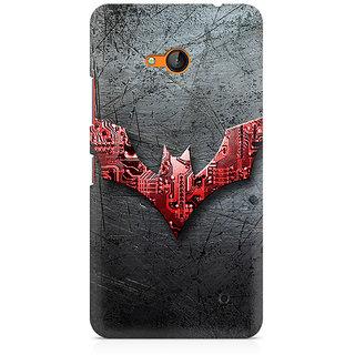 CopyCatz Batman Beyond Logo Premium Printed Case For Nokia Lumia 640