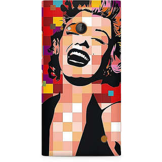 CopyCatz Retro Monroe Premium Printed Case For Nokia Lumia 730