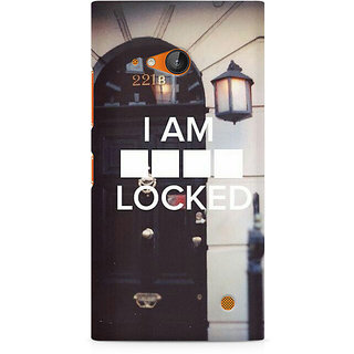 CopyCatz Sher Lock Premium Printed Case For Nokia Lumia 730