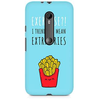 CopyCatz Extra Fries Premium Printed Case For Moto X Force