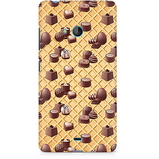 CopyCatz Eclair Love Premium Printed Case For Nokia Lumia 540