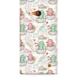 CopyCatz Cute Dragon Love Premium Printed Case For Nokia Lumia 730