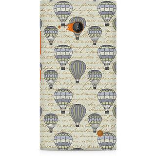 CopyCatz Balloon Scripture Premium Printed Case For Nokia Lumia 730