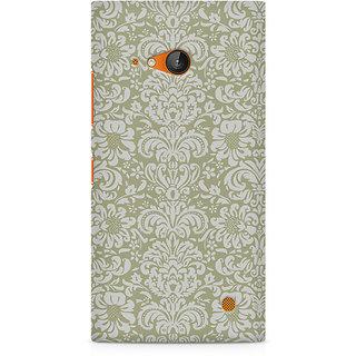 CopyCatz Primitive Floral Premium Printed Case For Nokia Lumia 730