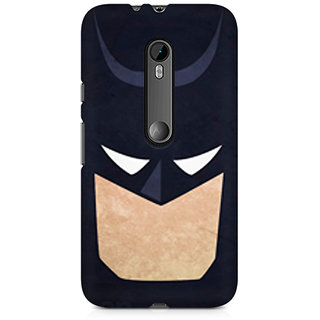 CopyCatz Batman Minimalist Premium Printed Case For Moto G3