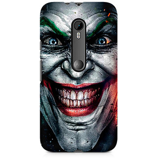 CopyCatz Injustice Face Premium Printed Case For Moto G3