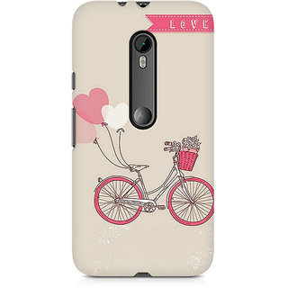 CopyCatz Bicycle Love Premium Printed Case For Moto X Play