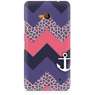 CopyCatz Chevron Anchored Premium Printed Case For Nokia Lumia 640