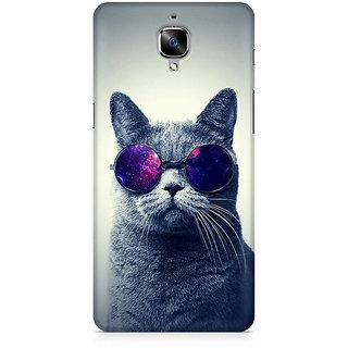 CopyCatz Classy Cat Premium Printed Case For OnePlus Three