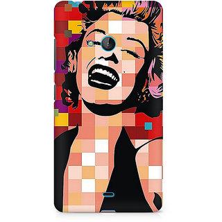 CopyCatz Retro Monroe Premium Printed Case For Nokia Lumia 540