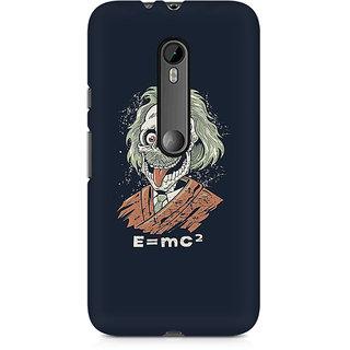 CopyCatz Skully Einstein Premium Printed Case For Moto X Force