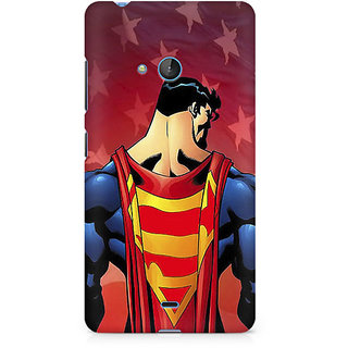 CopyCatz Superman Cape Premium Printed Case For Nokia Lumia 540