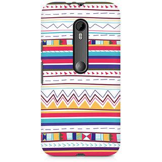 CopyCatz Tribal Pastels Premium Printed Case For Moto X Style
