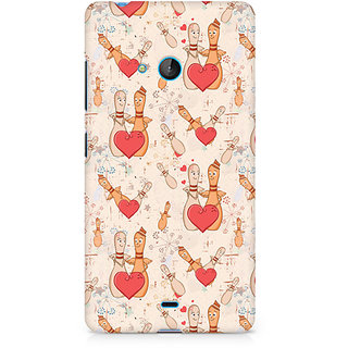CopyCatz Love Pins Premium Printed Case For Nokia Lumia 540