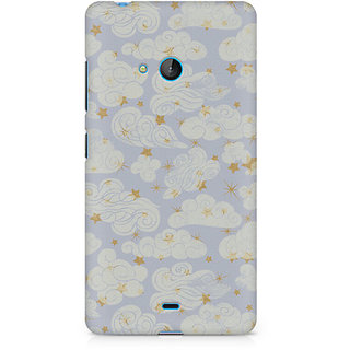 CopyCatz Vintage Clouds Premium Printed Case For Nokia Lumia 540