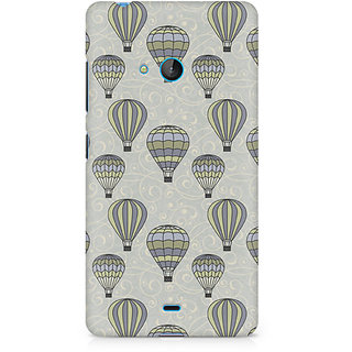 CopyCatz Vintage Hot Air Balloons Premium Printed Case For Nokia Lumia 540