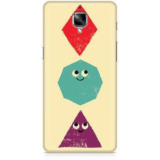 CopyCatz Geometric Monsters Premium Printed Case For OnePlus Three