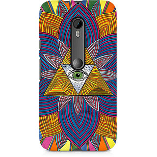 CopyCatz The Eye Premium Printed Case For Moto X Force