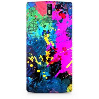 CopyCatz Artful Splatter Premium Printed Case For OnePlus One