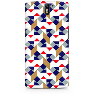 CopyCatz Checked Square Premium Printed Case For OnePlus One