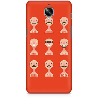 CopyCatz Types Of Beard Premium Printed Case For OnePlus Three