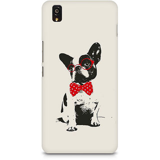 CopyCatz Bowtie Pup Premium Printed Case For OnePlus X