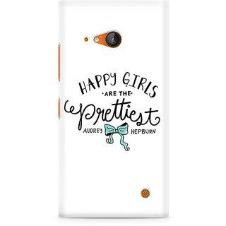 CopyCatz Happy Girls Premium Printed Case For Nokia Lumia 730