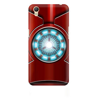 CopyCatz Iron Man'S Heart Premium Printed Case For Oppo A37