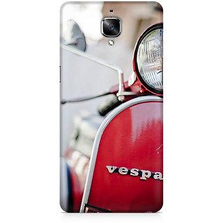 CopyCatz Vespa Front Premium Printed Case For OnePlus Three
