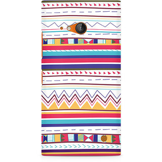 CopyCatz Tribal Pastels Premium Printed Case For Nokia Lumia 730