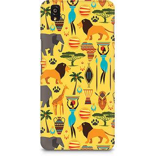 CopyCatz Tribal Africa Premium Printed Case For OnePlus X