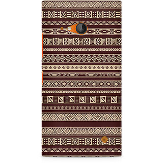 CopyCatz Brown Ribbon Premium Printed Case For Nokia Lumia 730