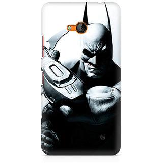 CopyCatz Batman Arkham City Premium Printed Case For Nokia Lumia 640