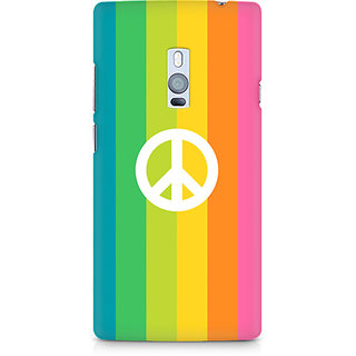 CopyCatz Colorful Peace Premium Printed Case For OnePlus Two