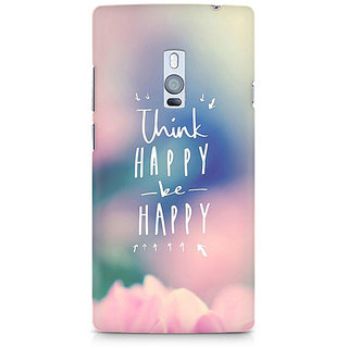 CopyCatz Be Happy Premium Printed Case For OnePlus Two