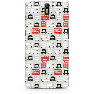 CopyCatz London Cab And Bus Premium Printed Case For OnePlus One