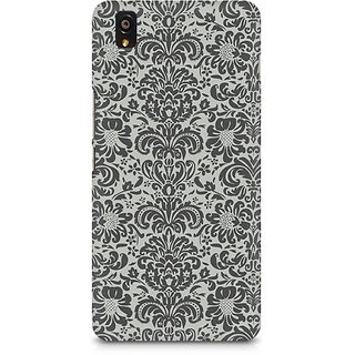 CopyCatz Vintage Floral Premium Printed Case For OnePlus X