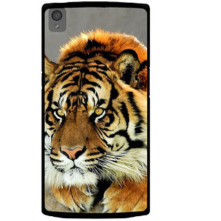 Ayaashii Tiger Is Ready Back Case Cover for One Plus X::One + X