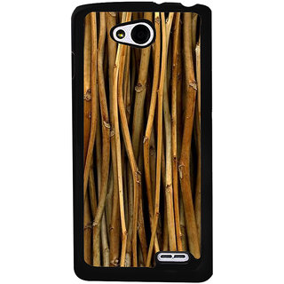 Ayaashii Bamboo Sticks Paattern Back Case Cover for LG L90
